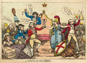 Rowlandson: A touch on the Times