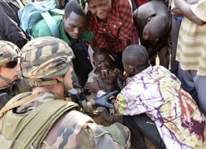 Top10: French troops in the Central African Republic
