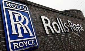 Rolls-Royce aero engines factory