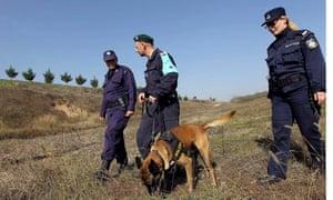 Greek border police Orestiada