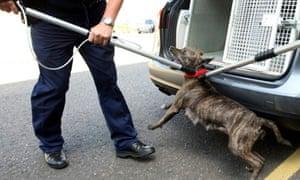 Police dog handlers