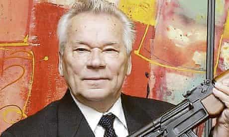 Mikhail Kalashnikov in 2002.
