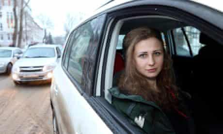Maria Alyokhina of Pussy Riot