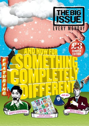 Socent Advent Calendar: The Big Issue Christmas cover