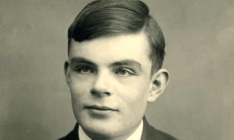 Alan Turing at school in Dorset, aged 16 in 1928.
