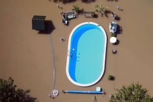 River Elbe floods