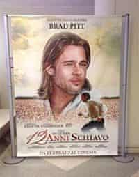 12 Years a Slave italy publicity featuring brad pitt
