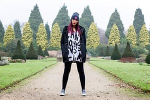 portraits of year: Paris Lees at Newstead Abbey