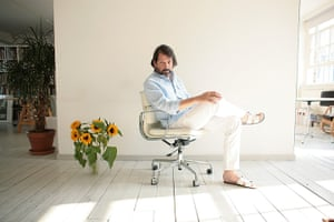 portraits of year: Peter Saville Art director and graphic designer