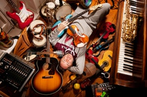 portraits of year: Nigel Kennedy for Portrait of the Artist.