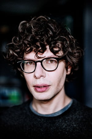 portraits of year: Comedian and tv presenter Simon Amstell