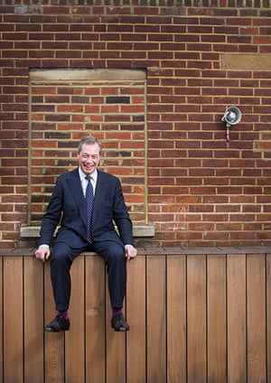 portraits of year: Nigel Farage Leader of the United Kingdom Independence Party (UKIP)
