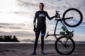 portraits of year: Chris Froome, Team Sky road cyclist. 2nd in 2012 Tour de France and 3rd in