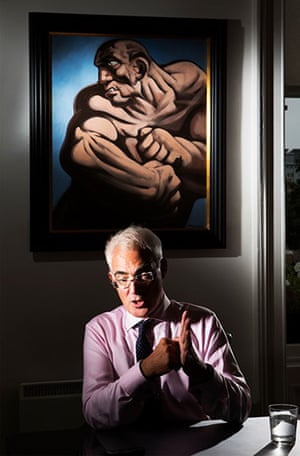 portraits of year: Alastair Darling
