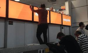 Passenger at Gatwick airport
