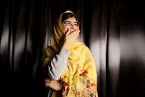 Portraits of year: Malala Yousafzai, schoolgirl, educational activist