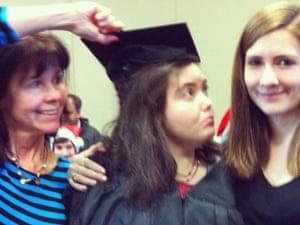 Melissa Powell's graduation