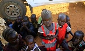 South Sudan UN camp