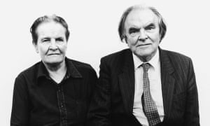 Peter Geach with his wife Elizabeth Anscombe.