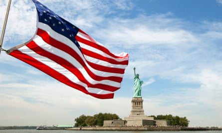 american flag, statue of liberty immigration DREAM