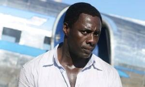 Idris Elba in Mandela: Long Walk to Freedom.