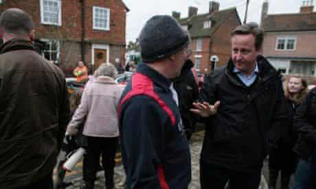 David Cameron in Yalding