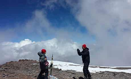 Tyler Kevin Armstrong summit Aconcagua
