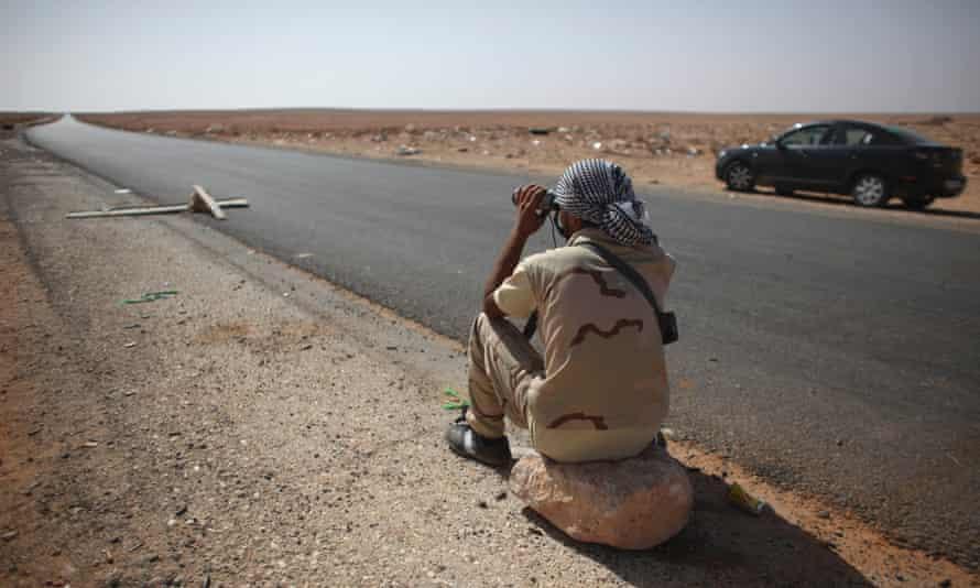 Libya checkpoint