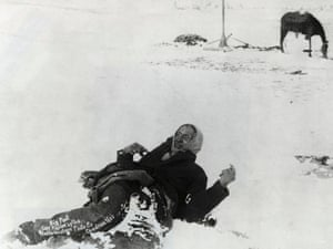 Wounded Knee - a picture from the past