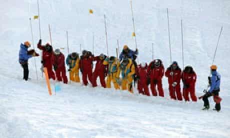 Avalanche drill