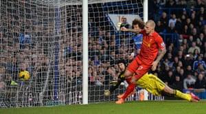 football: Liverpool's Slovakian defender Martin Sk