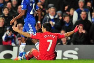 chelsea.: Liverpool's Uruguayan striker Luiz Suare