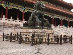 'Sleeping Lion' in Beijing