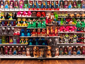 'Made In China' by Liu Bolin in New York City.