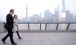 David Cameron in Shanghai 3/12/13