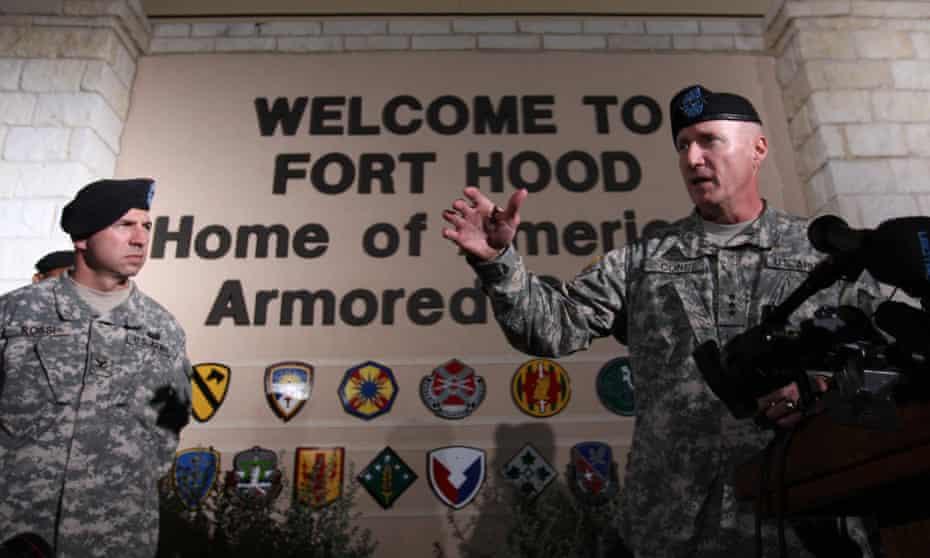 Fort Hood, Texas.