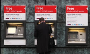 ATM bank fee