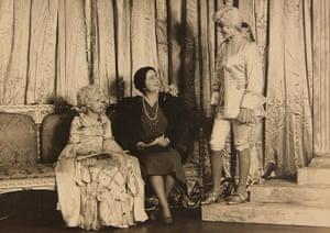 Royal pantomime: Queen Mother Elizabeth Margaret