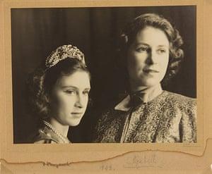 Royal pantomime: signed photograph