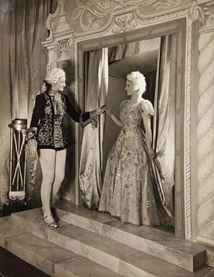 Royal pantomime: Margaret
