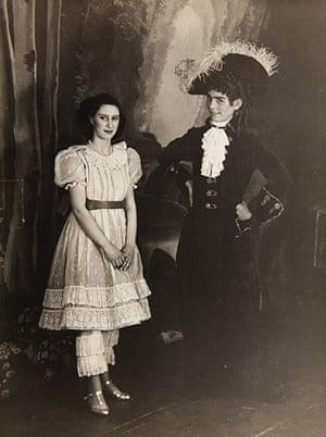 Royal pantomime: Margaret 1944