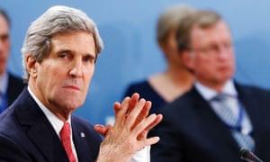 John Kerry at Nato meeting