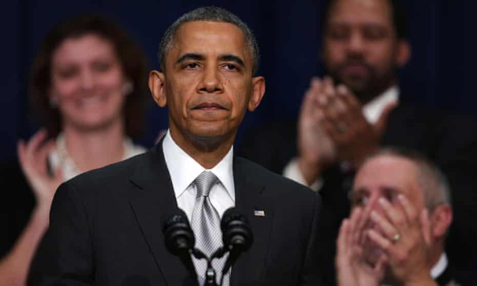 Obama on healthcare.