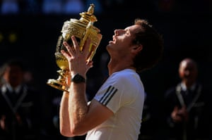 Tom Jenkins Pix of Year: Andy Murray wins the Wimbledon 2013 mens singles final