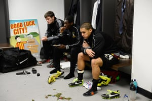 Tom Jenkins Pix of Year: Bradford City dejection after the Carling Cup Final