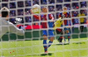 Tom Jenkins Pix of Year: Kevin Phillips scores the winning penalty for Crystal Palace