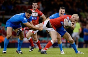 Tom Jenkins Pix of Year: Wales versus Italy in the Rugby League World Cup