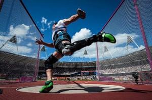 Tom Jenkins Pix of Year: Adrian Matasik of Slovakia throws