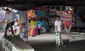 South Bank skaters … as precious as bats and great crested newts when it comes to planning applications.