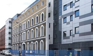 Shadow gap … UCL's New Hall housing, 465 Caledonian Road, was declared the worst building of 2013.